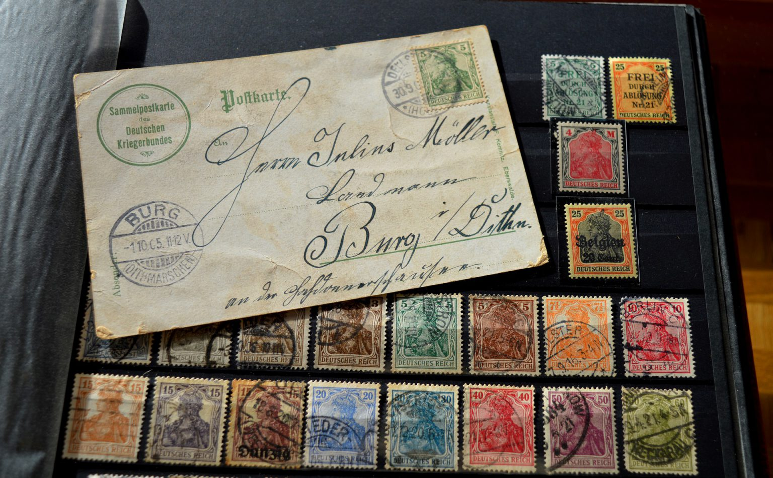 Stamp album