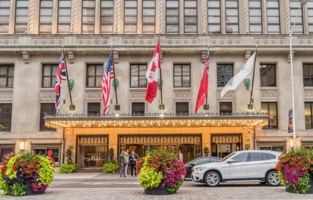 Elegant hotel in Toronto